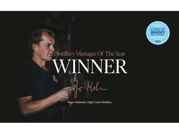 Roger Melander utsedd till Distillery manager of the year